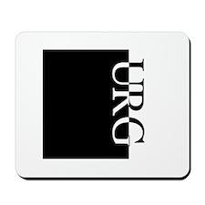 URG Typography Mousepad
