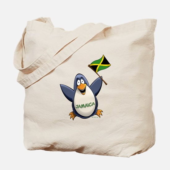 Jamaica Penguin Tote Bag