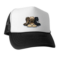 3 Afghan Hounds Trucker Hat