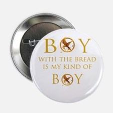 """Hunger Games, Boy with the Br 2.25"""" Button"""
