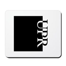 UPR Typography Mousepad