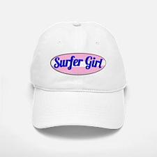 Surfer Girl Baseball Baseball Cap