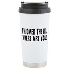 Over the Hill Travel Coffee Mug