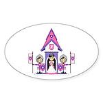 Princess & Heart Knights Sticker (50 Pk)