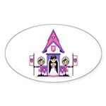 Princess & Heart Knights Sticker (10 Pk)