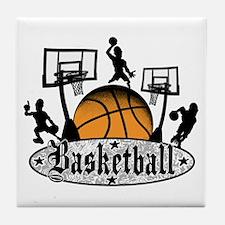 Basketball Action Tile Coaster