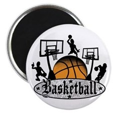 Basketball Action Magnet