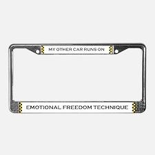 EFT License Plates License Plate Frame