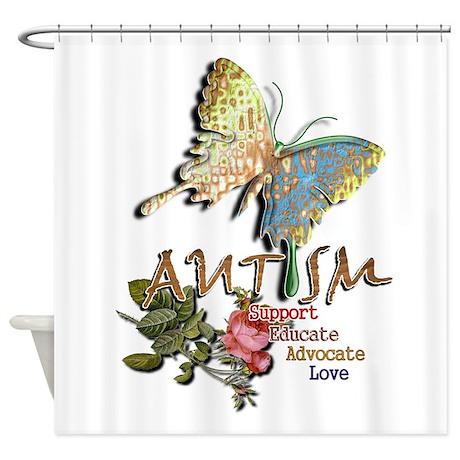Autism: Shower Curtain