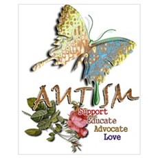 Autism: Wall Art Framed Print