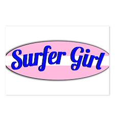 Surfer Girl Postcards (Package of 8)