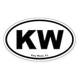 Key west Bumper Stickers