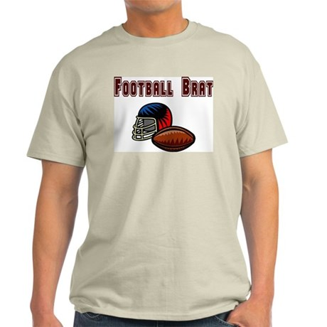 Football Brat Ash Grey T-Shirt