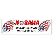 Funny Not an idiot Bumper Sticker