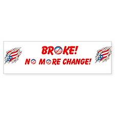 Cool Change obama Bumper Sticker