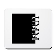 UMM Typography Mousepad