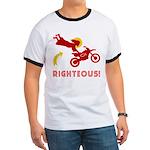 RIGHTEOUS! Jesus Dirt Bike Ringer T