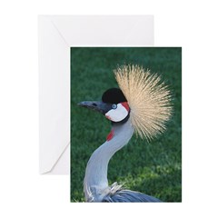 Crowned Crane Greeting Cards (Pk of 10)
