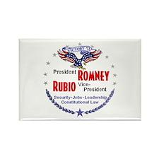 Romney Rubio Rectangle Magnet