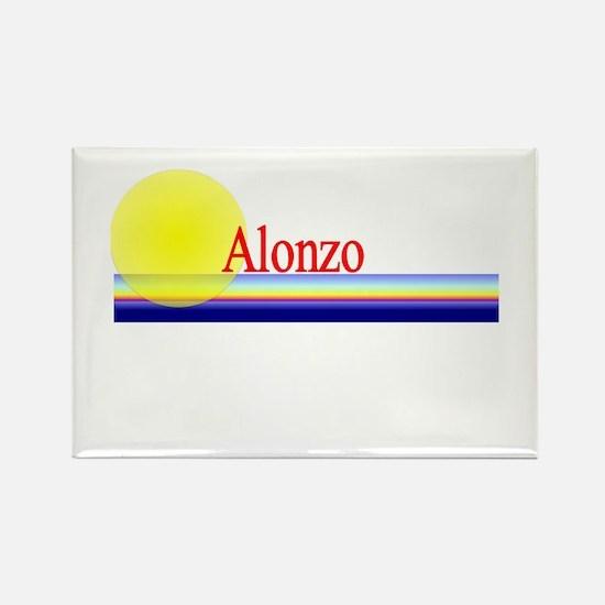Alonzo Rectangle Magnet