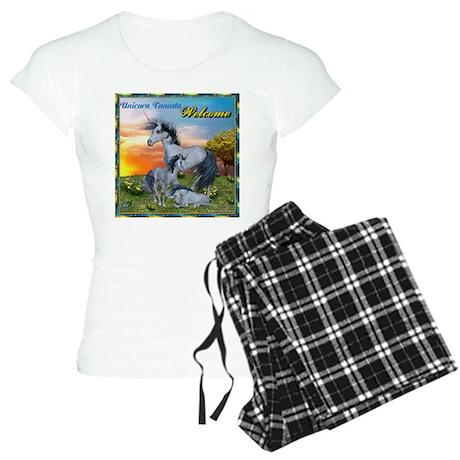 unicorn canasta logo Women's Light Pajamas