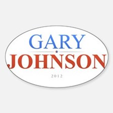 Gary Johnson 2012 Decal