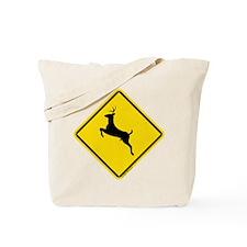 Deer Crossing (Repulsive) Tote Bag