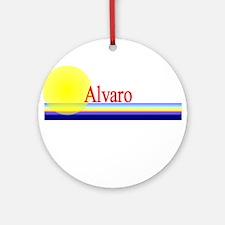 Alvaro Ornament (Round)