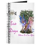 Triad Designz Fairy Logo Journal