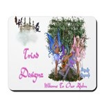 Triad Designz Fairy Logo Mousepad