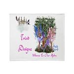 Triad Designz Fairy Logo Throw Blanket