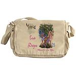 Triad Designz Fairy Logo Messenger Bag