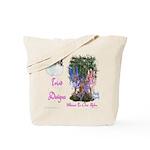 Triad Designz Fairy Logo Tote Bag