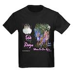 Triad Designz Fairy Logo Kids Dark T-Shirt