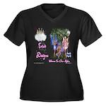 Triad Designz Fairy Logo Women's Plus Size V-Neck