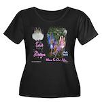 Triad Designz Fairy Logo Women's Plus Size Scoop N