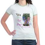 Triad Designz Fairy Logo Jr. Ringer T-Shirt