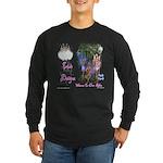 Triad Designz Fairy Logo Long Sleeve Dark T-Shirt