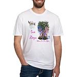 Triad Designz Fairy Logo Fitted T-Shirt