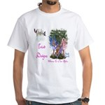 Triad Designz Fairy Logo White T-Shirt
