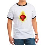 Heart jesus Ringer T