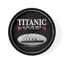 "Titanic Ghost Ship 10"" Wall Clock (black)"