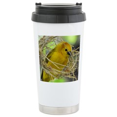 Golden Weaver Stainless Steel Travel Mug