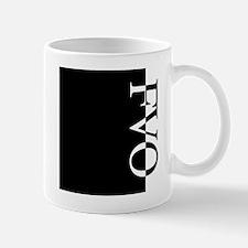 FVO Typography Mug