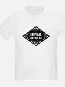 Louisiana Girls Kick Ass T-Shirt