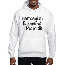 Norwegian Elkhound MOM Hoodie