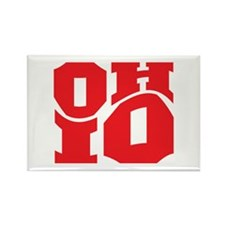 Ohio Rectangle Magnet