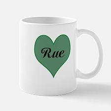 I Love Rue Mug