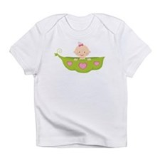 Baby Girl Pea Pod Boat Infant T-Shirt