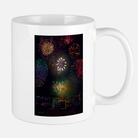 July 4th Fireworks Mug